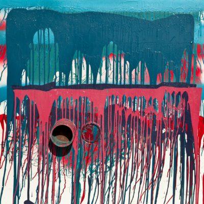 N. 34 Senza titolo. Barattolo, coperchio, nitro su metallo cm 100x100. 1974