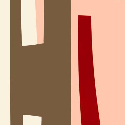 Pag. 92 (14) 06. Pannello. Notro su metallo cm 100x100. 1970