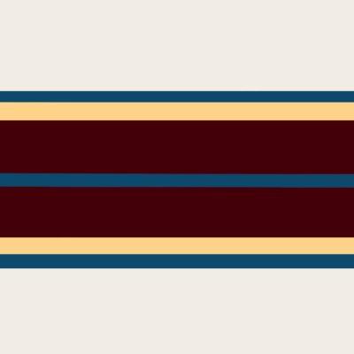 Pag. 92 (15) 18. Bianco-azzurro-beige-amaranto. Nitro su metallo cm 100x100. 1973
