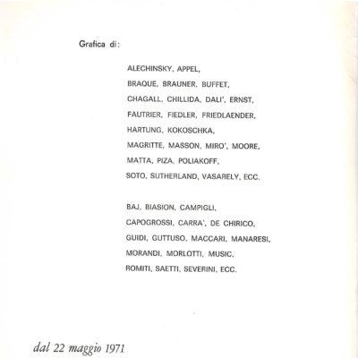 LA N. L.BOLOGNA 2 1971-1